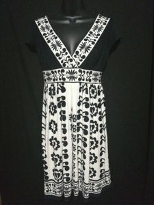 Maggy London Dress Fit Flare Sleeveless Size 4